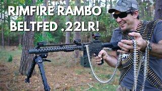Full Auto Beltfed .22LR Machine Gun!