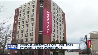 D'Youville goes digital to help prevent spread of COVID-19