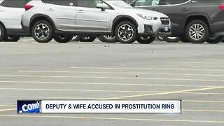 Deputy and wife accused in prostitution ring