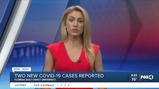 Two new cases of COVID-19 reported at FGCU