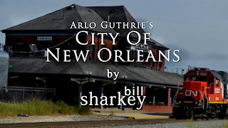 City Of New Orleans - Arlo Guthrie / Willie Nelson (cover-live by Bill Sharkey)