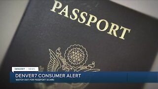 BBB warning about passport scams