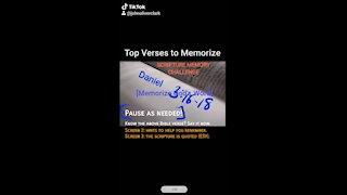 Top Verses To Memorize, Daniel 3:16-18
