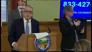Gov. DeWine announces plan to delay primary election day in Ohio