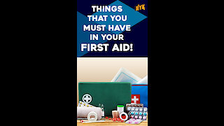 Things That You Must Have In Your First Aid Kit *