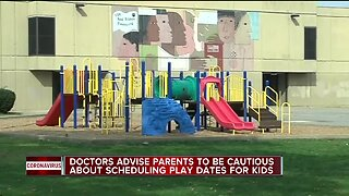 Doctors advise against play dates