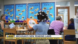 What parents need to know about Michigan's new reading laws