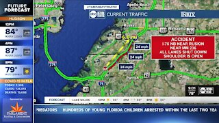 Backup on I-75 after fatal hit-and-run