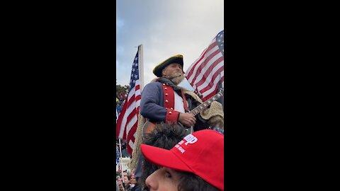 Pledge allegiances to the Flag