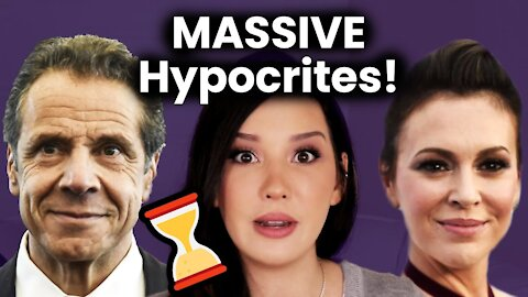 ME TOO Activists RESIGN After They Cover For Cuomo! Time's Up HYPOCRITES