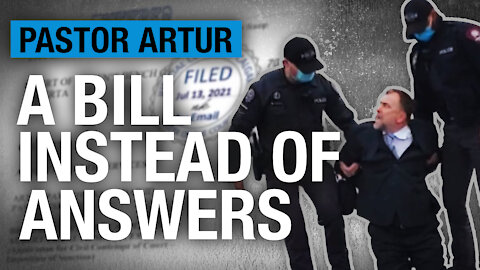 What was the gov't saying about Pastor Artur before his arrest? Help us find out
