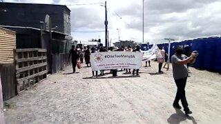 motorcade against gender-based violence in Gugulethu