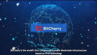 BitCherry - The world's first commercial scalable blockchain infrastructure based on IPv8 technology