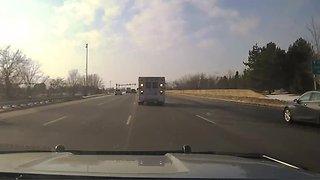 Video 1 – dashcam stolen ambulance chase