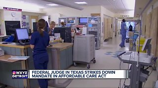 Texas Federal judge strikes down mandate in Affordable Care Act