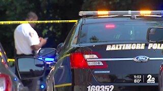 City leaders discuss gun Baltimore's gun violence following weekend shootings