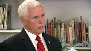 Vice President Pence claims coronavirus testing has not slowed down