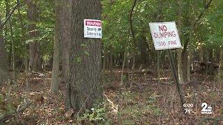 Baltimore City councilman addresses illegal dumping along public golf course