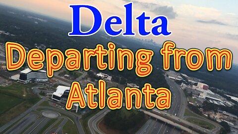 Delta flight departing from Atlanta Hartsfield-Jackson International Airport (ATL)