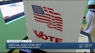 Special election dates set for Florida's 20th congressional district race
