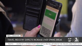 Travel industry expects increase over spring break