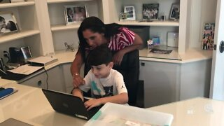 Pediatrician, mom offer advice on how to navigate virtual learning