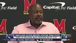Maryland on bye week before hosting Penn State