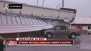 Storms bring heavy wind through Sand Springs