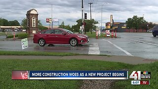 Continued construction along Wornall Road leaves drivers, businesses frustrated