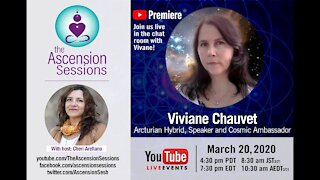 Viviane Chauvet_ Arcturian Hybrid Healer on Ascension, Holographic Healing & Our Multidimensionality