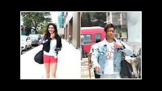 Karishma Tanna & Karan Tacker Snapped Outside The Gym