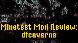 Minetest Mod Review: dfcaverns