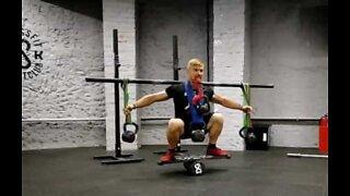 Atleta eleva o halterofilismo a outro nível