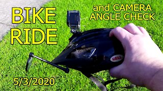 Bike Ride 05/03/2020 - Camera Angle Check