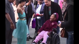 10-year-old Vegas girl with brain tumor has dream birthday party bash