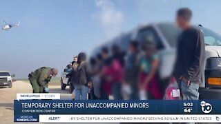 Convention Center to serve as shelter for unaccompanied migrant children