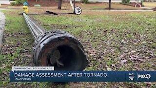 Tornado damage in Tallahassee