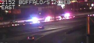 NHP on scene of a fatal crash on 215 beltway