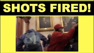 BREAKING: REPORTS OF SHOTS FIRED INSIDE THE CAPITOL