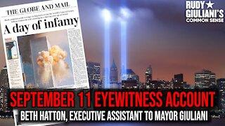 September 11 Eyewitness Account: Beth Hatton, Executive Assistant to Mayor Giuliani | Ep. 169