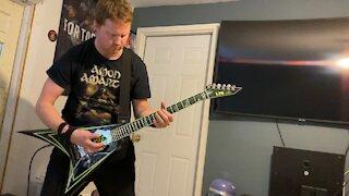 Slayer - Black Magic (guitar cover)