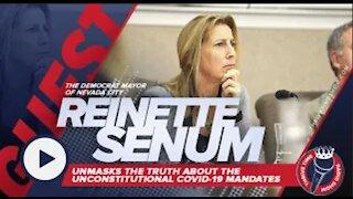 Democrat Mayor of Nevada City (Reinette Senum) | Truth About the Unconstitutional COVID-19 Mandates