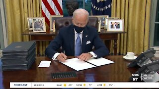 President Biden to sign executive orders on COVID-19 today