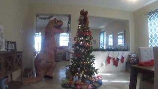 Il T-Rex rovina Natale!
