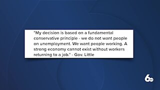 Idaho to stop participating in pandemic unemployment programs