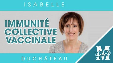 Isabelle Duchâteau   l'immunité collective vaccinale
