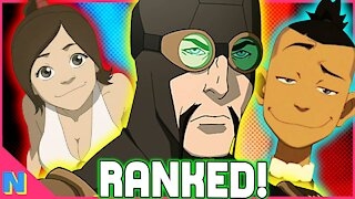 Avatar: EVERY Non-Bending Combatant Ranked! | Avatar the Last Airbender & The Legend of Korra
