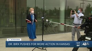 Dr. Birx pushes for more action in Kansas