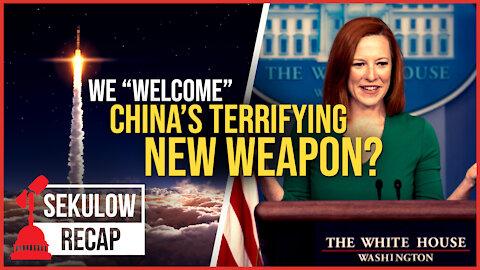 Jen Psaki's Alarming Response to China's Terrifying New Weapon