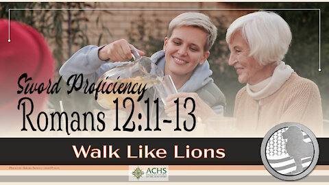 """""""SP: Romans 12:11-13"""" Walk Like Lions Christian Daily Devotion with Chappy May 20, 2021"""